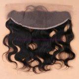 新しい! 束の閉鎖が付いている人間のインドのバージンの毛を搭載する8A等級13*4のレースの正面閉鎖は染めることができる