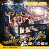 Théâtre à la maison de conduite de montagnes russes de cinéma du cinéma 5D/6D/7D/9d dynamique chaud de cabine