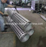 フランジが付いているステンレス鋼の管