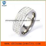 De Ring van de Vinger van de Stenen van Multil van het Roestvrij staal van de Juwelen van Shineme (CZR2583)