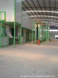 Chaîne de production d'enduit de poudre de porte