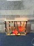 Estilo de madeira Chtistmas Deroded LED Light com filiais de Brown