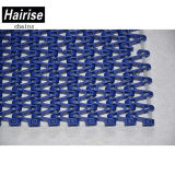 Blue Color Easy Clean Flush Grid Plastic Modular Conveyor Belt