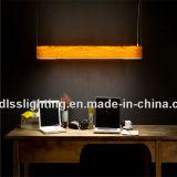 Venda por atacado de suspensão acrílica da iluminação do pendente dos projetos novos