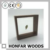 Frame de retrato de madeira da decoração clássica de Brown