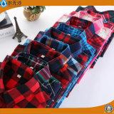 2017 camice di seta casuali della camicetta del cotone della camicetta di modo delle donne della molla