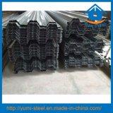 Hojas galvanizadas del Decking del soporte del suelo de acero para los altos edificios de la subida