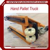 carro de paleta hidráulico de la mano de la anchura de la fork de 685m m carretilla manual de la paleta de 2.5 toneladas