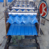 Glalvanized plooide het Dubbele Broodje van het Blad van het Dak van de Laag Vormt Machine