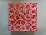 Jabón de Rose de la flor del baño del papel del regalo del festival