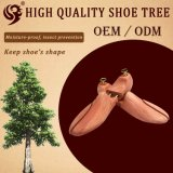 Diseño modificado para requisitos particulares árbol de madera del zapato del fabricante de Facotry