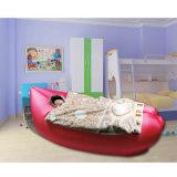 Rápido inflar o saco de sono de acampamento do curso preguiçoso impermeável do sofá do ar