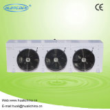 공기 냉각기를 가진 저온 공기에 의하여 냉각되는 압축 단위