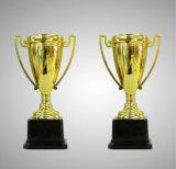 Troféu econômico do ouro de 7.5 polegadas para o competiam e o campeonato
