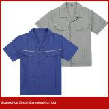 Guangzhou Factory Wholesale Vêtements de travail bon marché pour hommes et femmes (W97)