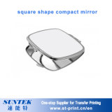 Sublimatie Aangepast Dame Gift Heart Shape Compact Spiegel