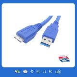 USB Af zum Mikroschwerpunktshandbuch Mikro-USB-Kabel für Mobiltelefon