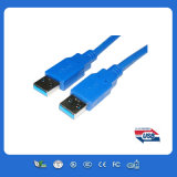 los 3.3FT USB3.0 al cable de datos micro del USB de B