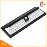 Indicatore luminoso solare solare del sensore di movimento dei 54 indicatori luminosi del LED con i 3 modi