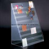 Coutume tout étalage acrylique d'étagère de logo (HY-YX0063)