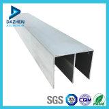 Perfil de alumínio anodizado 6063 T5 da extrusão da porta de alumínio de prata do Casement