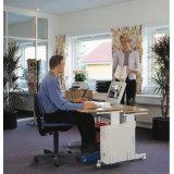 유일한 사무실 책상 컴퓨터 테이블 워크 스테이션의 다른 모형