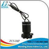 """Vannes électromagnétiques en nylon d'irrigation par égouttement mini taille de Bona Zcs-04p 1/8 de """""""