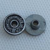 Rivets brillants en métal de modèle de plaine de nickel pour le vêtement