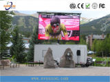 Muestra programable al aire libre del LED con Pirce inferior
