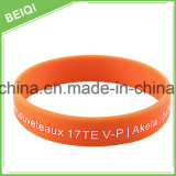 Bracelet bon marché promotionnel direct de silicones de prix usine
