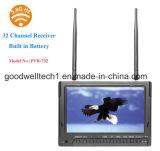 7 polegadas TFT LCD com DVR para fotografia aérea