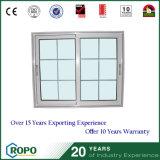 Grenzgebiet-Hurrikan-Beweis-Aluminiumfenster-Gitter-Entwurf