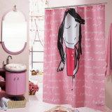 100%Polyester stampati impermeabilizzano la tenda di acquazzone della stanza da bagno (01S0012)
