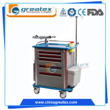 La mayoría exigieron producto de la carretilla médica del metal el nuevo en el mercado 2015 de China