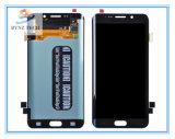 Экран касания LCD сотового телефона для края Samsung S6 плюс агрегат экрана цифрователя +Touch LCD