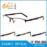 Bêta bâti titanique léger en verre optiques de monocle de lunetterie (8105)