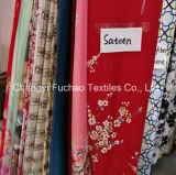 Talla determinada del gemelo de la hoja de cubierta de base del lecho moderno de la colcha de la tela del material polivinílico al por mayor de la fábrica que acolcha