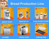 Brot, das einzelnes Plattform-Doppelt-Tellersegment-elektrischen Ofen für Verkauf glüht