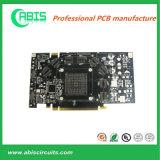 PCB платы с печатным монтажом перстов HASL&Gold