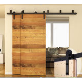 Original Antique Garage Hanging Sliding Wood Barn Door Hardware Track