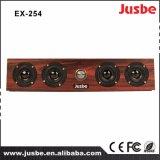 Barra de madera del altavoz del caso de Ex254 China para el sitio de los multimedia