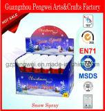 Nieve al por mayor del aerosol 250ml para la decoración de la ventana de la Navidad