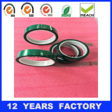 Cinta adhesiva del animal doméstico verde, cinta adhesiva da alta temperatura