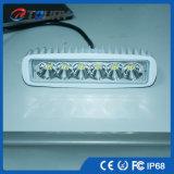 Lâmpada Offroad do trabalho do diodo emissor de luz da lâmpada 18W do diodo emissor de luz auto