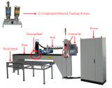 Máquina distribuidora do poliuretano da tira da espuma