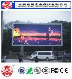 P8 im Freien farbenreiche LED Bildschirm-Bildschirmanzeige-Baugruppe 256mm*128mm