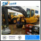 掘削機のインストールEmw-130L/1-75のための75%の使用率のスクラップのヤードの磁石