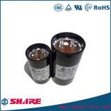 Condensador electrolítico de aluminio del condensador de comienzo del motor CD60