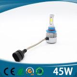 3 kit di conversione del faro H4 di Emark LED del fascio dei lati 45W 5000lm 12V 24V ciao Lo