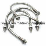 중국 DIN 3570에서 스테인리스 u-볼트와 견과 기계설비 공장